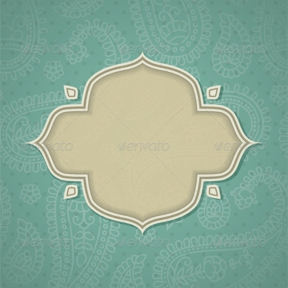 GraphicRiver Indian frame 4055651