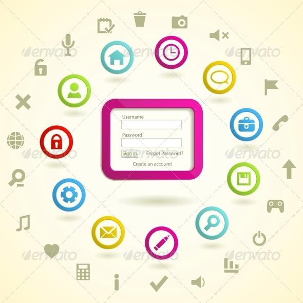 GraphicRiver Web design elemets 4055705
