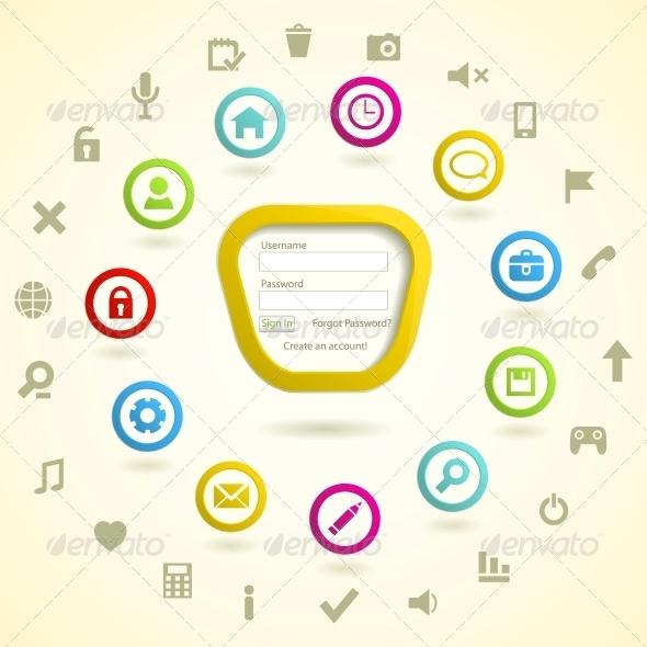 GraphicRiver Web design elemets 4055709