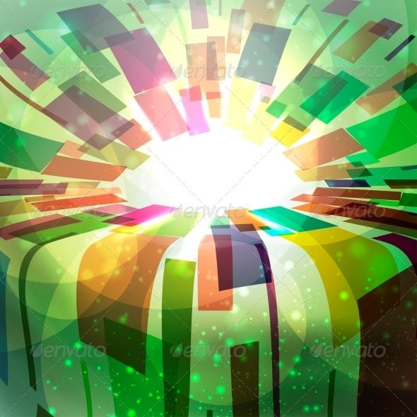 GraphicRiver Abstract vector background 4055847