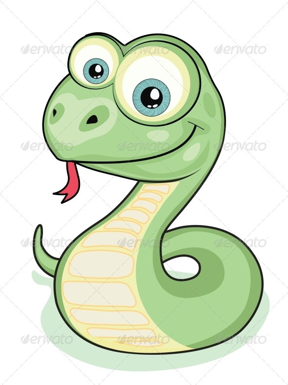 GraphicRiver Smiling snake 4056072