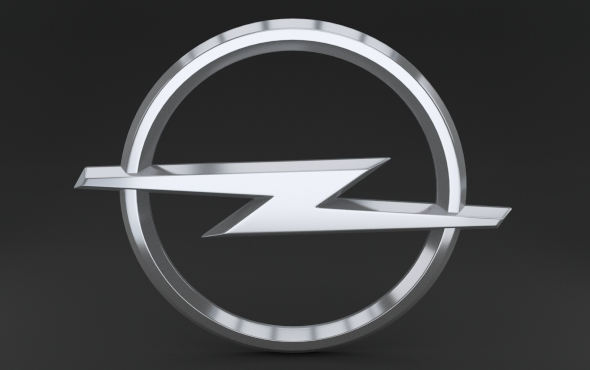 Opel Logo - 3DOcean Item for Sale