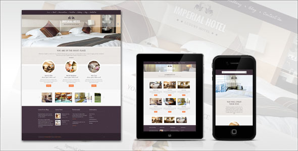 ThemeForest Imperial Hotel HTML Template 4057259