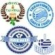 Set of authentic greek food stamp and labels - GraphicRiver Item for Sale