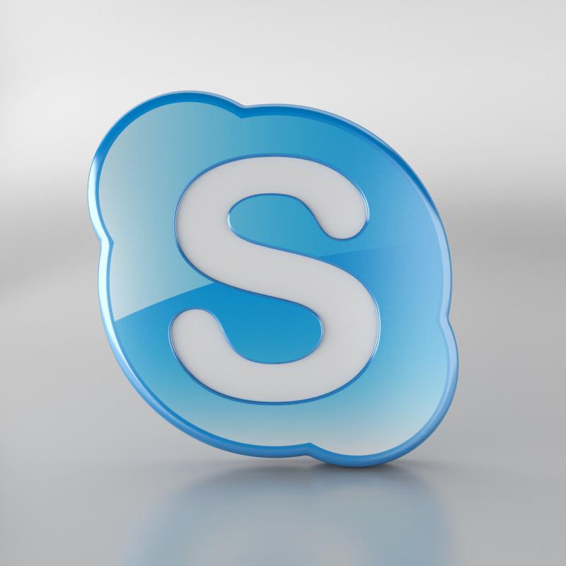 логотип skype: