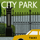 City Park Backgound - GraphicRiver Item for Sale