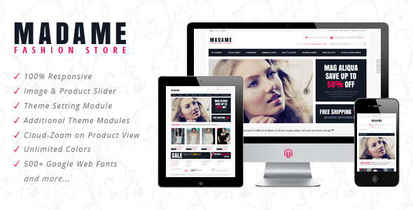 ThemeForest Madame Responsive Prestashop Theme 4053328