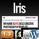 Iris Bold Photography Portfolio Theme - ThemeForest Item for Sale