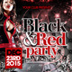 Black and Red Party Flyer Templates - GraphicRiver Item for Sale