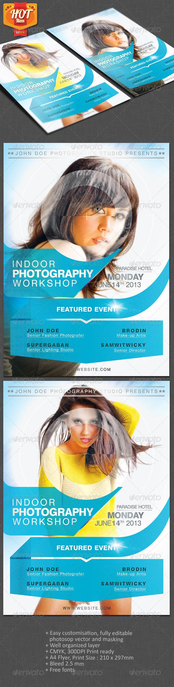 GraphicRiver Photographer A4 Flyer 3943641