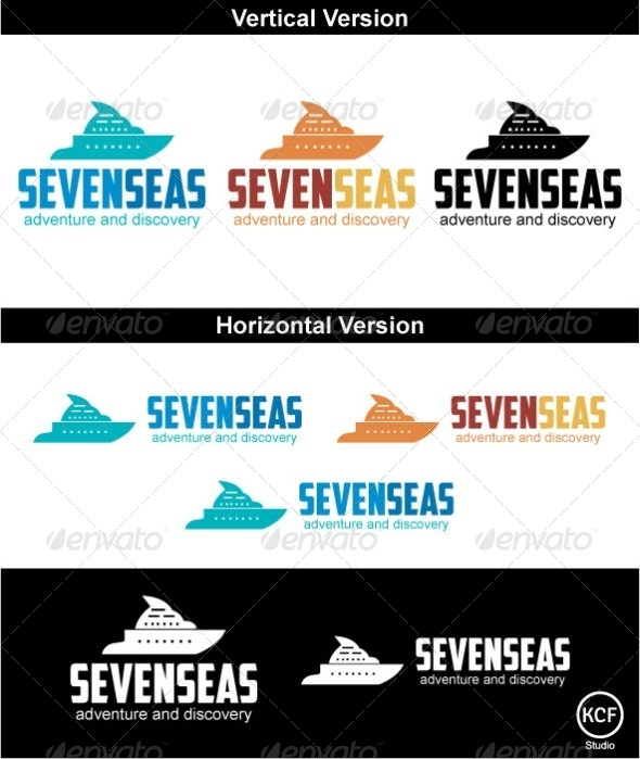 GraphicRiver SevenSeas Logo Design 3703421