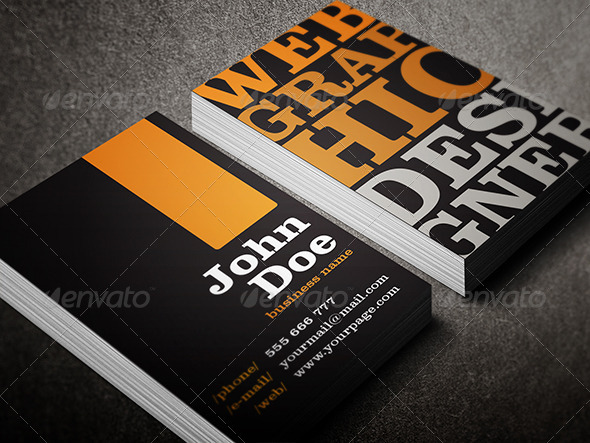GraphicRiver Business Card 4058338
