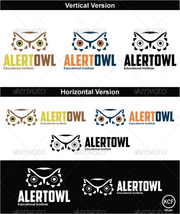 GraphicRiver AlertOwl Logo Design 3713934
