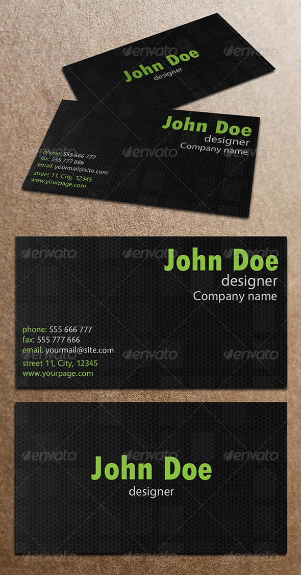 GraphicRiver Business Card 4058347