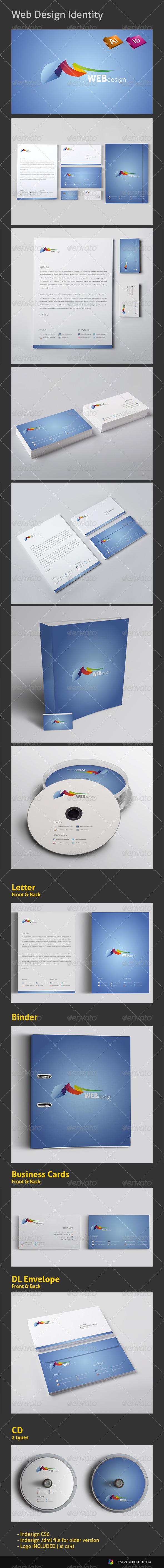 GraphicRiver Web Design Identity 4058386