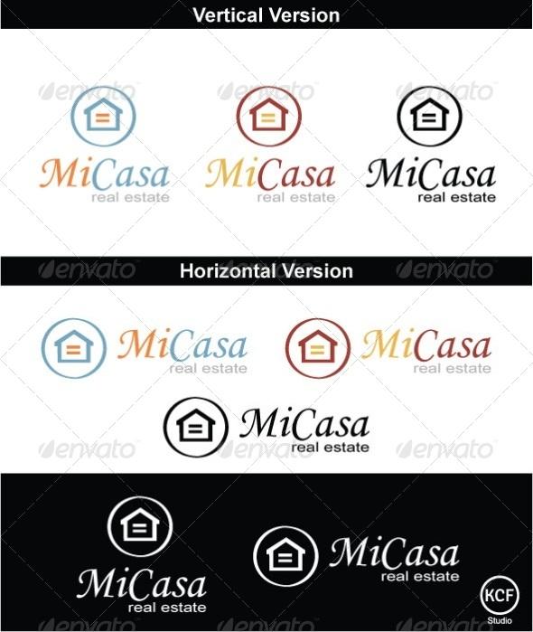 Mi Casa Logo Design