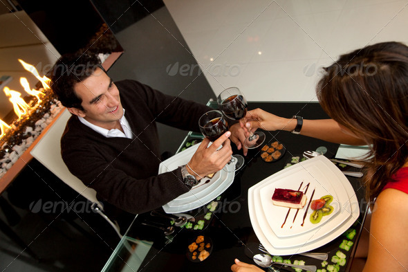 Stock Photo - PhotoDune Romantic dinner 438911