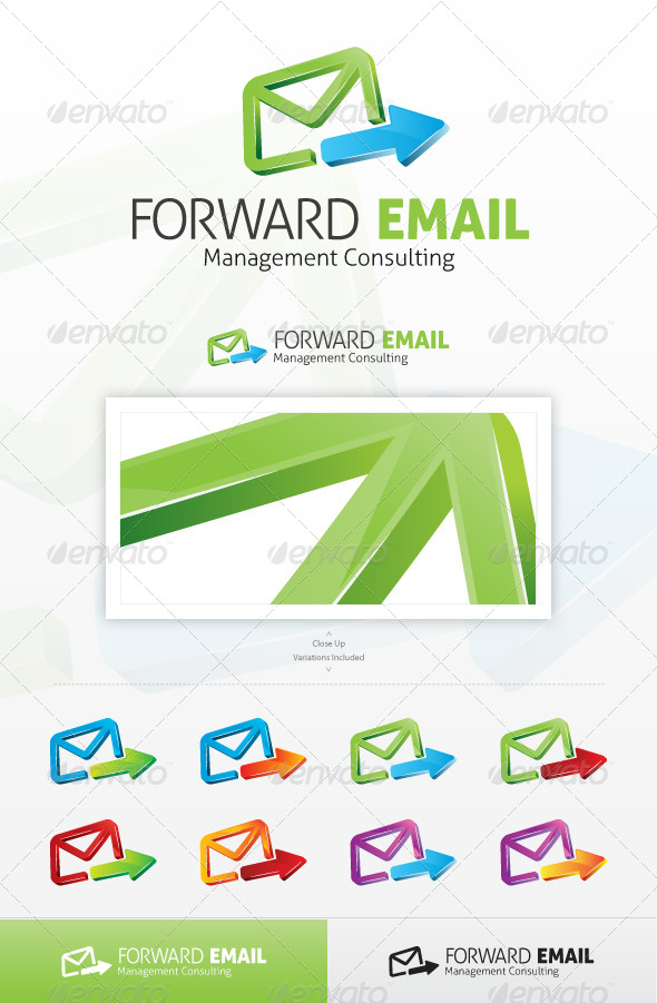Forward Email Logo - Objects Logo Templates