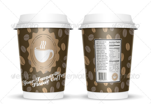 GraphicRiver Coffee Cup Mock Up 4059742