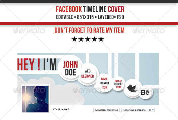 GraphicRiver Creative FB Timeline Cover 4059785
