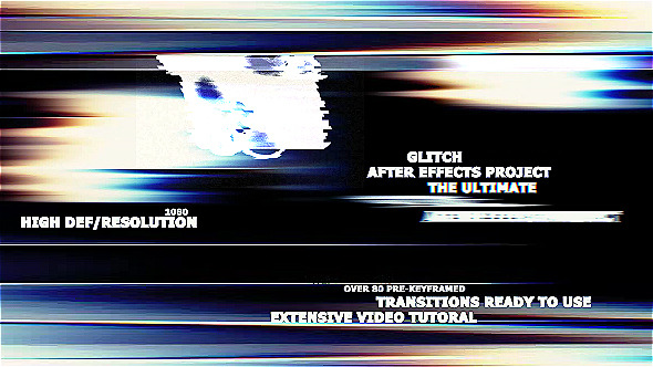 The Ultimate Glitch & 70 Presets Pack