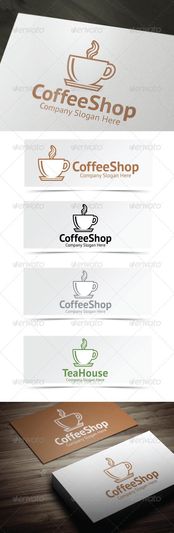GraphicRiver Coffee Shop Logo 4060570