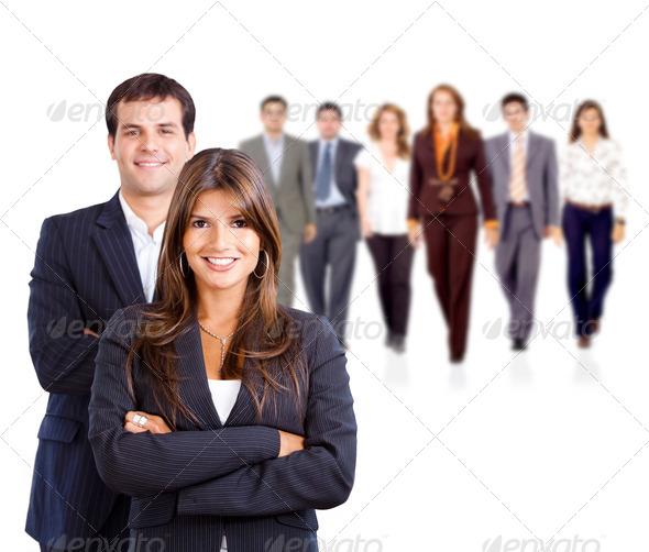 PhotoDune Business people 439139