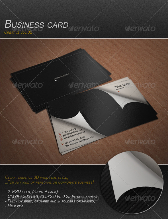 GraphicRiver Business Card Vol.03 3927589