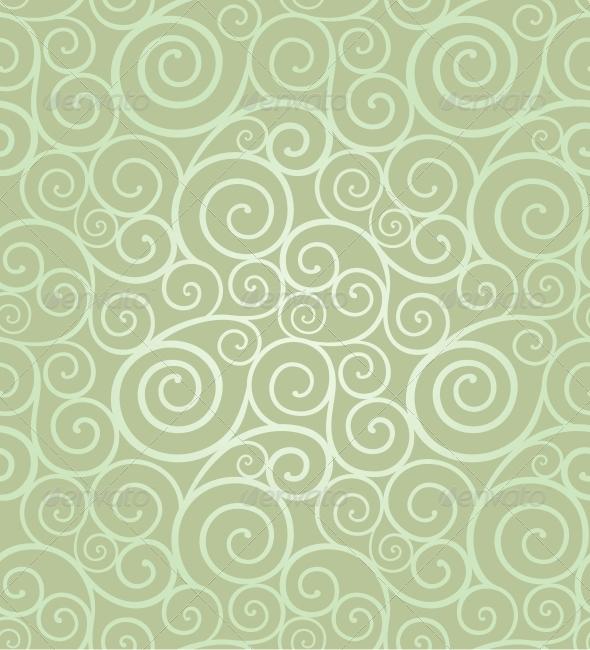 GraphicRiver Elegant swirl seamless composition 4061683