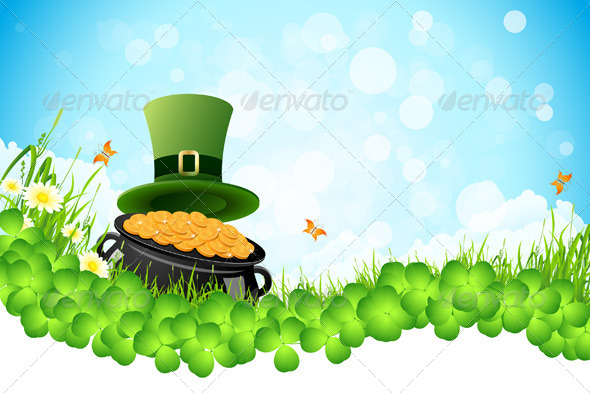 GraphicRiver Saint Patricks Day Background 4061730
