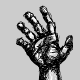 5 Hand Drawn Hands
