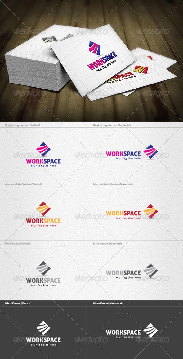 GraphicRiver Workspace Logo 3734019