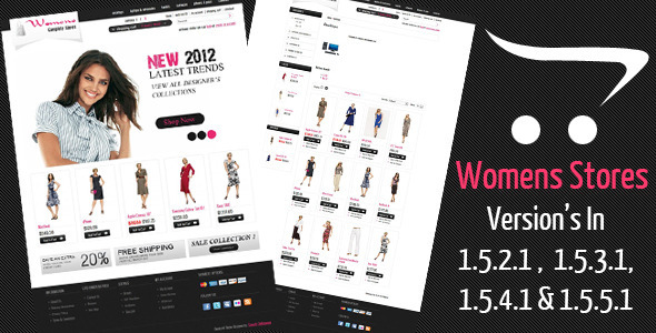 Womens Stores Opencart Theme - Fashion OpenCart
