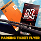 Parking Ticket Flyer  - GraphicRiver Item for Sale