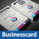 Infographic Style Business Card Template  - GraphicRiver Item for Sale