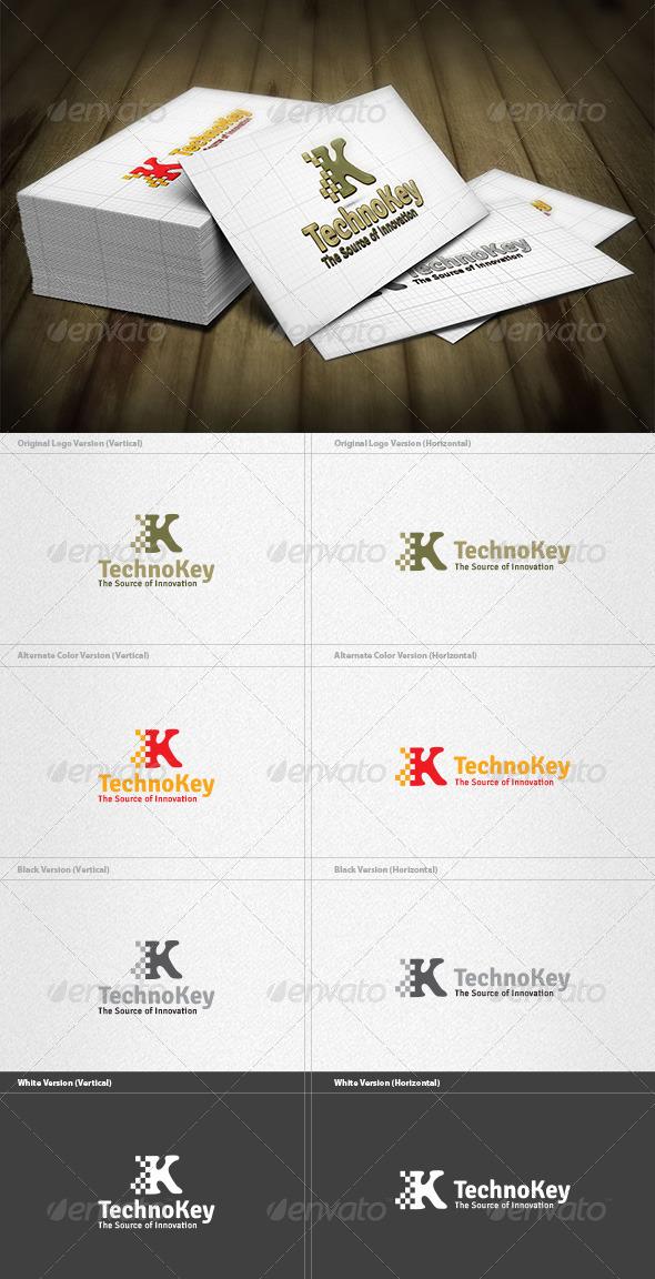 GraphicRiver Key Technology Logo 3735056