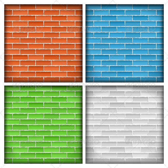 GraphicRiver Brick Walls 4062270