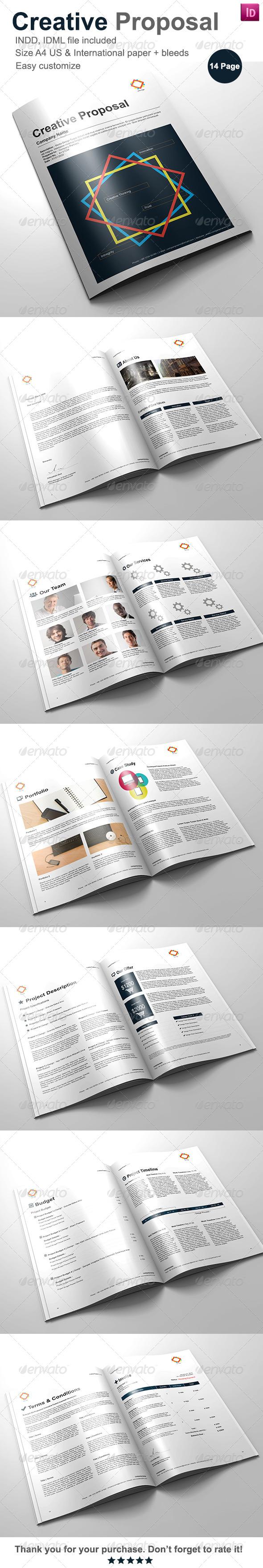 GraphicRiver Gstudio Creative Proposal Template 4062274