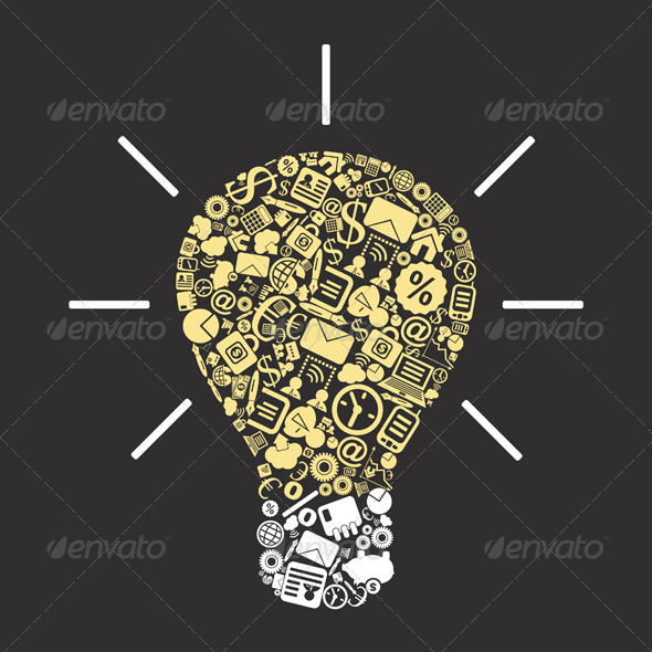 GraphicRiver Business a bulb 4062275