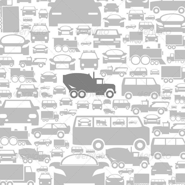 GraphicRiver Car a background 4062288