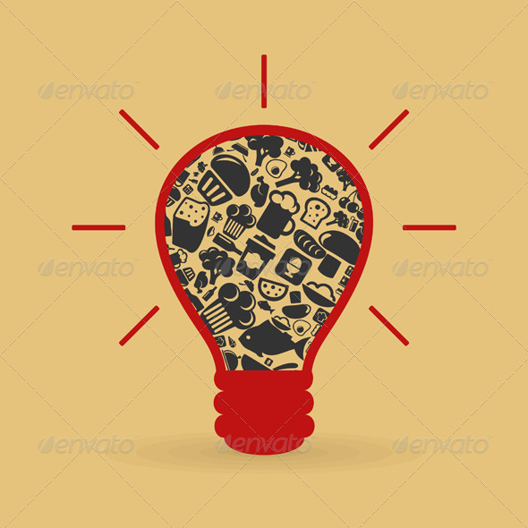 GraphicRiver Food a bulb 4062324