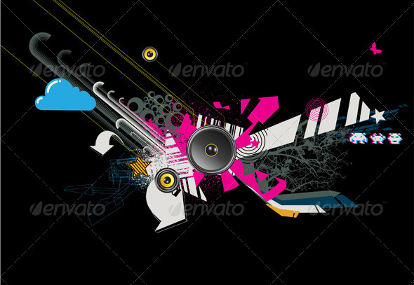 GraphicRiver Abstract Background 4062337