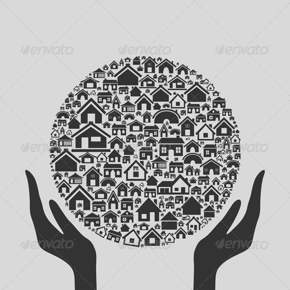 GraphicRiver Hand the House 3 4062347