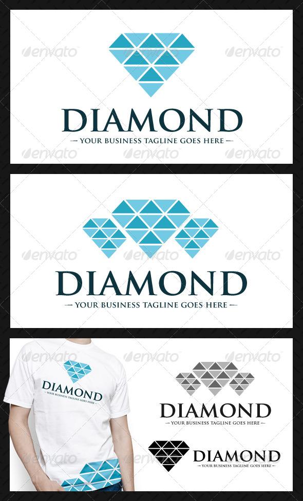GraphicRiver Diamond Logo Template 4062390