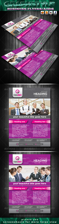 Nexden Business Flyers Ads