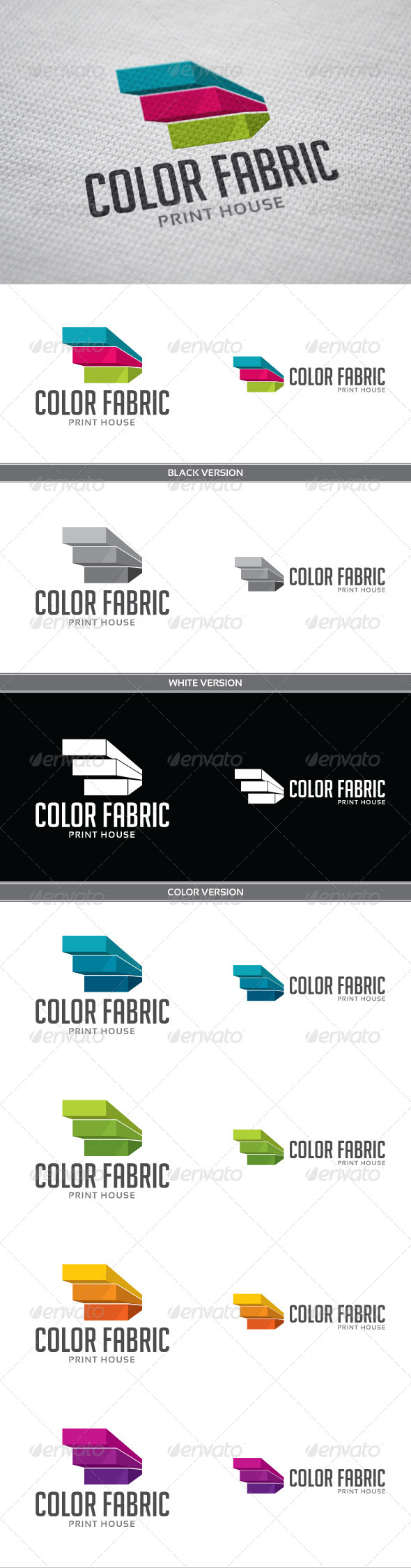 GraphicRiver Color Fabric 3958179