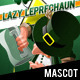 Lazy Leprechaun - Empty Mug!?! Mascot - GraphicRiver Item for Sale