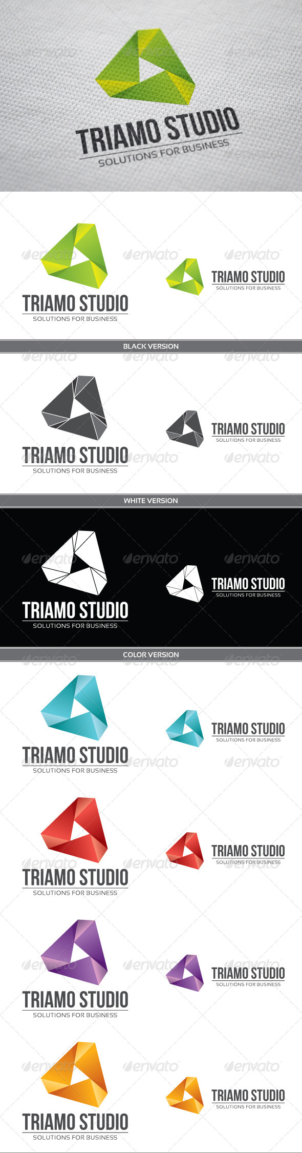 GraphicRiver Triamo Studio 3907415
