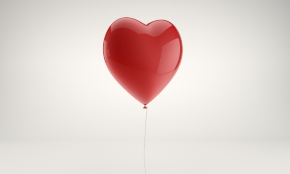 3DOcean Heart shaped balloon 4063219