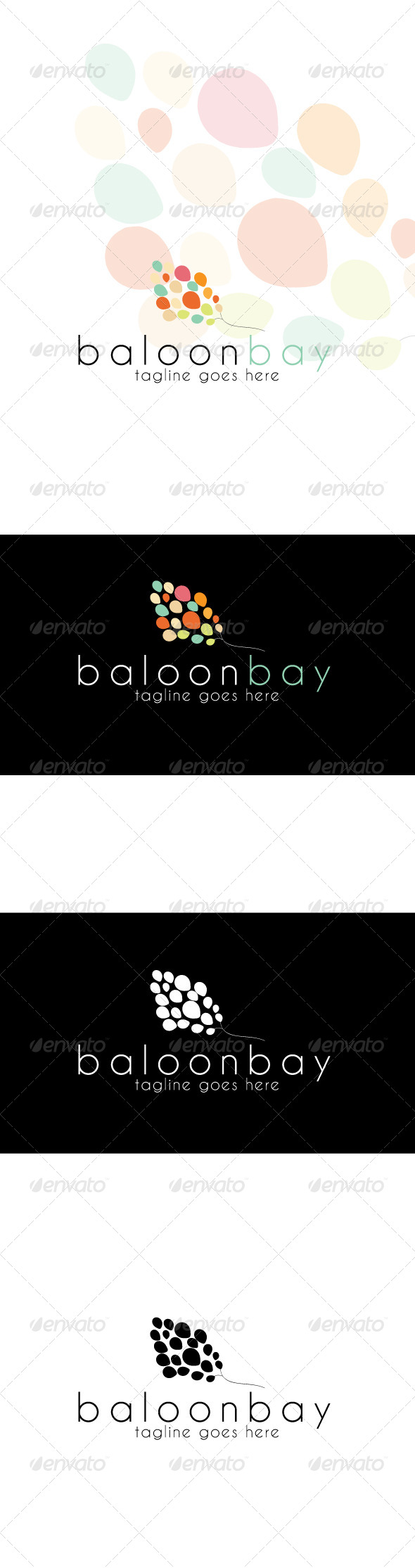 Baloonbay Logo - Humans Logo Templates